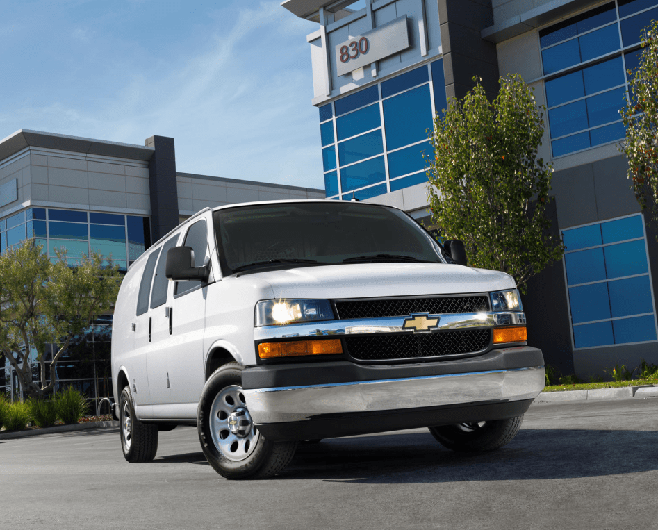 2022 Chevy Express 3500 Redesign