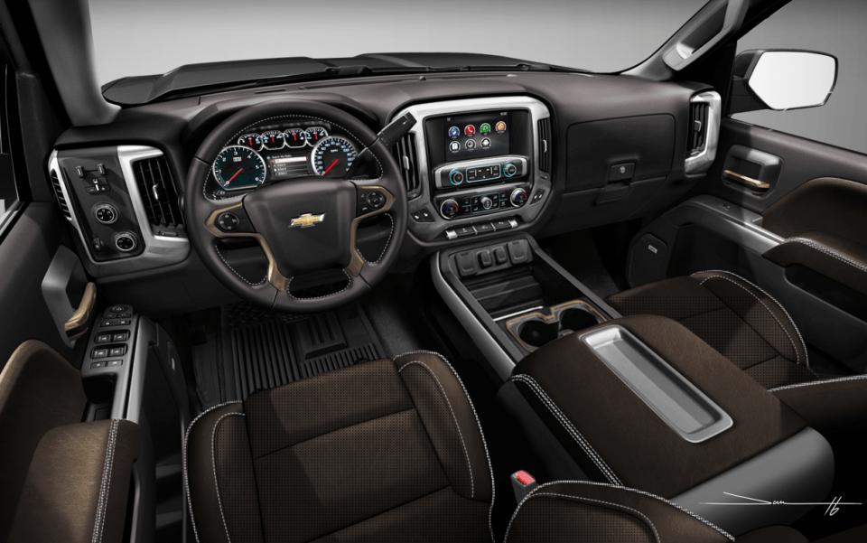 2022 Chevrolet Silverado 1500 Trail Boss Interior