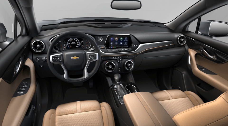2022 Chevy 3500 Dually High Country Interior