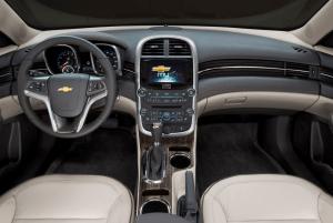 2022 Chevy Malibu Premier Interior
