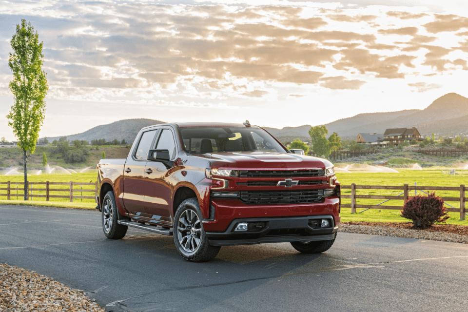 2022 Chevy Silverado 1500 Work Truck Colors