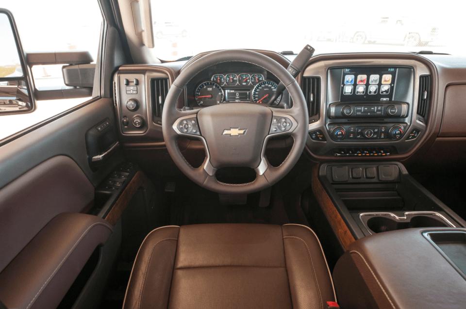 2022 Chevy 3500 Silverado Interior
