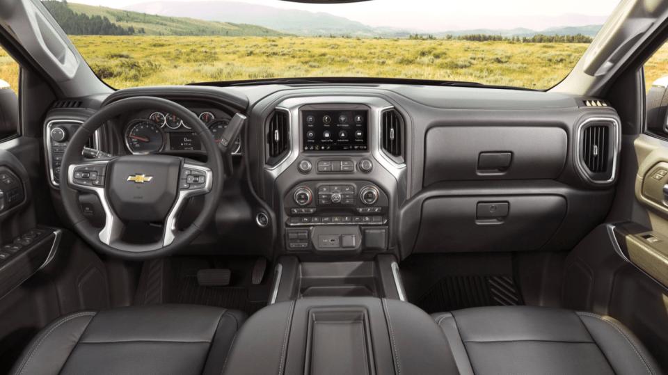2022 Chevy Truck Interior