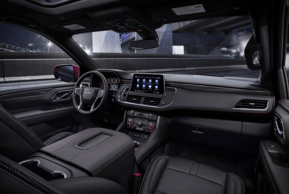 2022 Chevy Tahoe Hybrid Interior