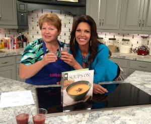 One of my fun experiences as a food writer included cooking with Gretchen Jensen of Good Things Utah.