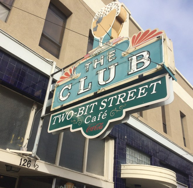 "Two-Bit Street Cafe got its name from the 25th Street ""two bit"" name."