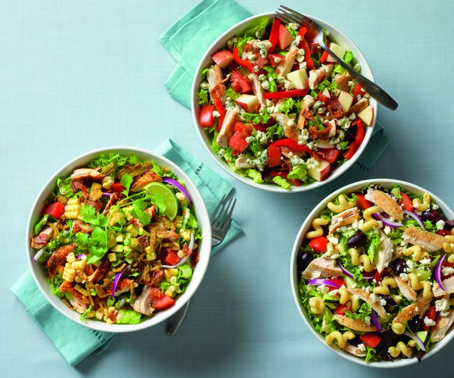 World Tour Salads served at Noodles & Company.