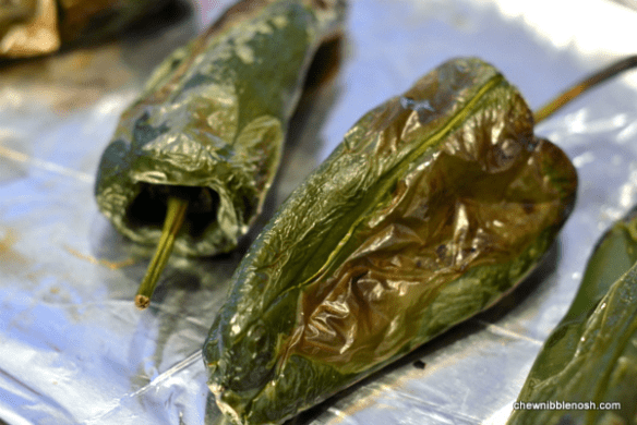 Poblanos Stuffed with Cheddar and Chicken 4 - Chew Nibble Nosh