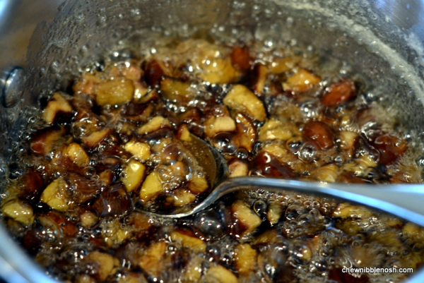 Slow Baked Spiced Farro Pudding with Apples and Candied Chestnuts 3 - Chew Nibble Nosh
