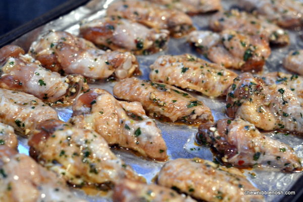 Asian Marinated Wings with Sweet Chili Glaze 3 - Chew Nibble Nosh