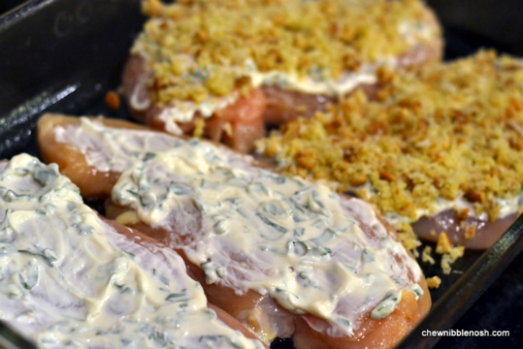 Pine Nut and Parmesan Crusted Chicken 2 - Chew Nibble Nosh