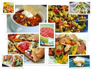 Top Ten Summer Recipes - Chew Nibble Nosh