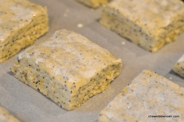 Lemon Poppyseed Strawberry Shortcakes with Lemon Devonshire Cream 6 - Chew Nibble Nosh