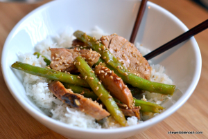 Asian-Style Pork Stir Fry - Chew Nibble Nosh