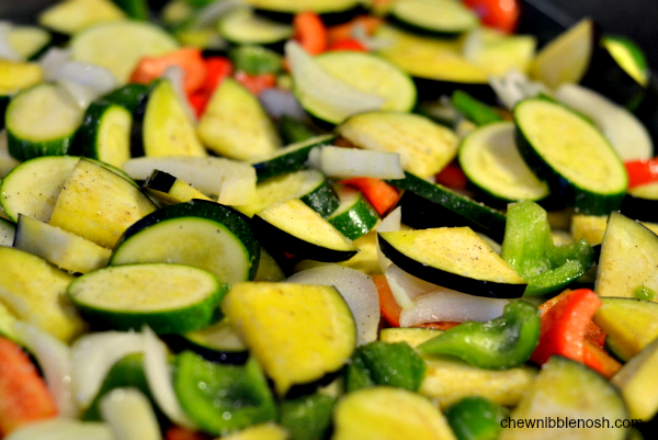 Roasted Vegetable Sauce - Chew Nibble Nosh 2