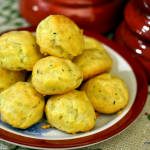 Thyme and Gruyère Gougères – Cooking with McCormick