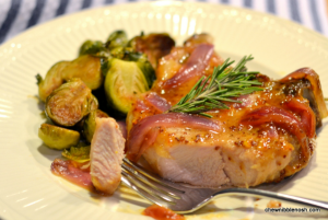 Orange-Mustard Glazed Pork Chops - Chew Nibble Nosh