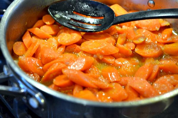 Braised Carrots with Crisp Sage - Chew Nibble Nosh 5
