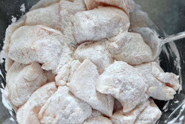 Chicken & Gnocchi Dumplings - Chew Nibble Nosh 2