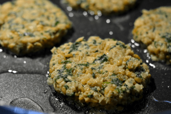 Middle Eastern Chickpea Burgers - Chew Nibble Nosh 5