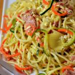 Spiralized Italian Pasta Salad