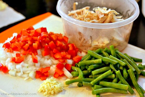 One Pot Coconut Chicken and Rice - Chew Nibble Nosh 1