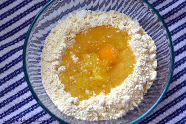 Easy Lemon Crinkle Cookies - Chew Nibble Nosh 2