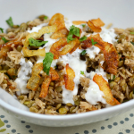 Mujaddara: Rice and Lentils with Crispy Onions