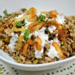 Mujaddara: Rice and Lentils with Crispy Onions