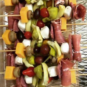 The 6th Degree_Greek salad skewers