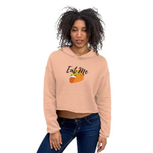 Women's Clothing | Crop Hoodie - Eat Me