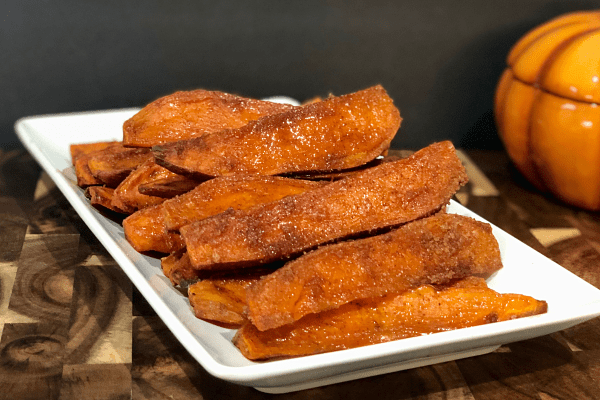 Glazed Sweet Potato Fries