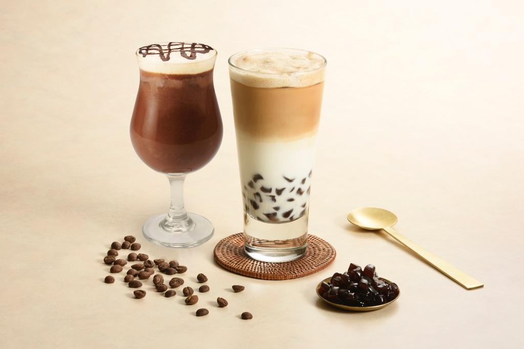 「米歇爾黑巧可可」、「黑糖珍珠拿鐵」,入冬微涼暖心飲品