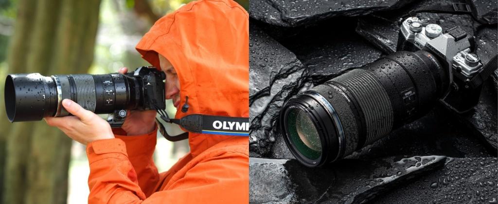 一流的光學設計加上防滴防塵結構,在任何環境都安心使用