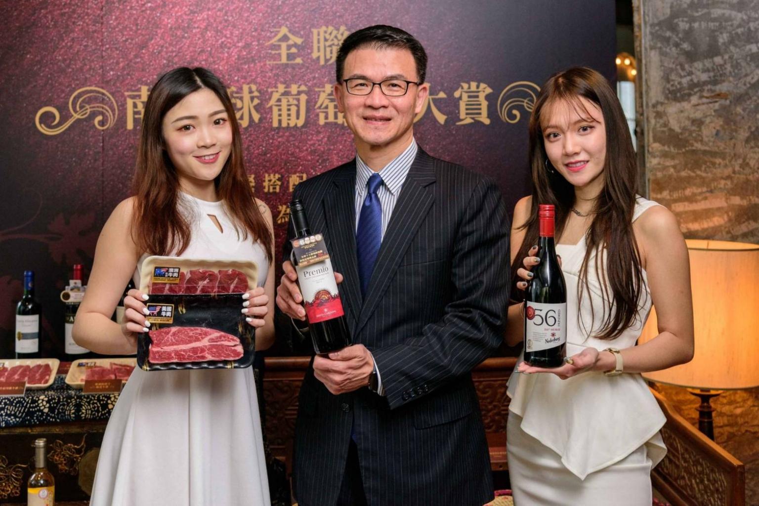 全聯自2015年強化紅白酒專區以來,業績連續三年維持雙位數成長,看好葡萄酒商機,全聯喊出「紅金」經營策略,今年特別選在3~4月南半球的葡萄收穫期搶先推出「南半球葡萄酒大賞」
