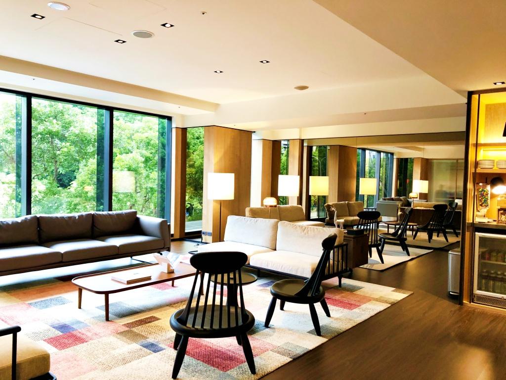 和苑三井花園飯店lounge