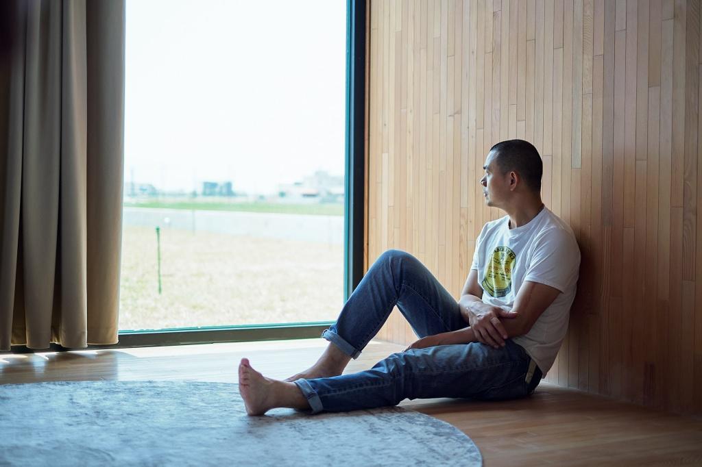 江振誠返回台灣,在宜蘭構築夢想住宅。