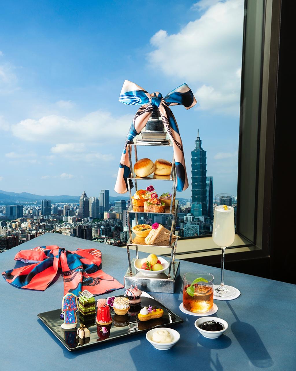 香格里拉台北遠東國際大飯店馬可波羅酒廊期間限定 《marco Polo X Daniel Wong 啟程100 聯名下午茶》
