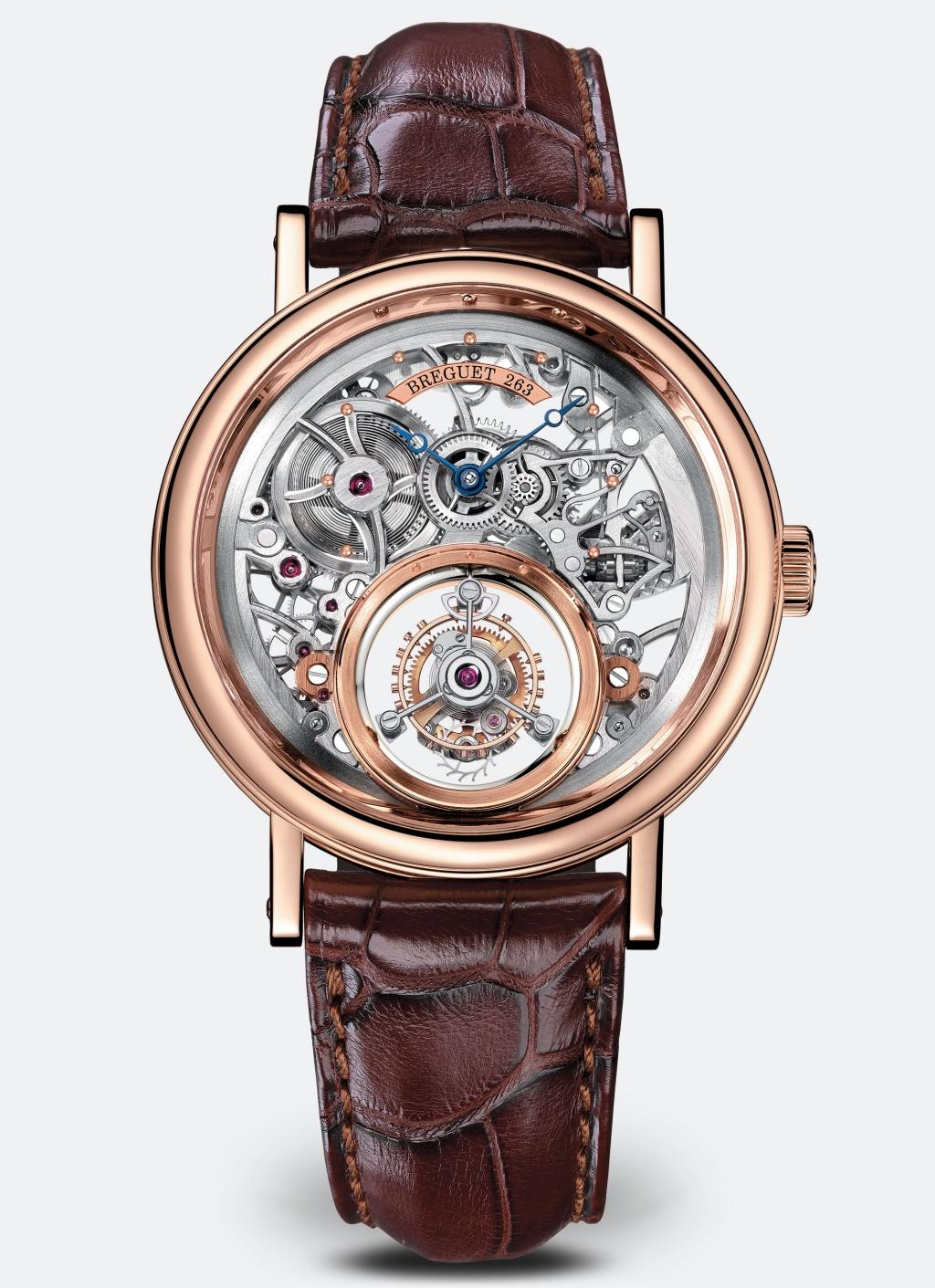 Classique Tourbillon Messidor 5335經典系列魔術水晶陀飛輪腕錶,價值:nt$ 4,980,000