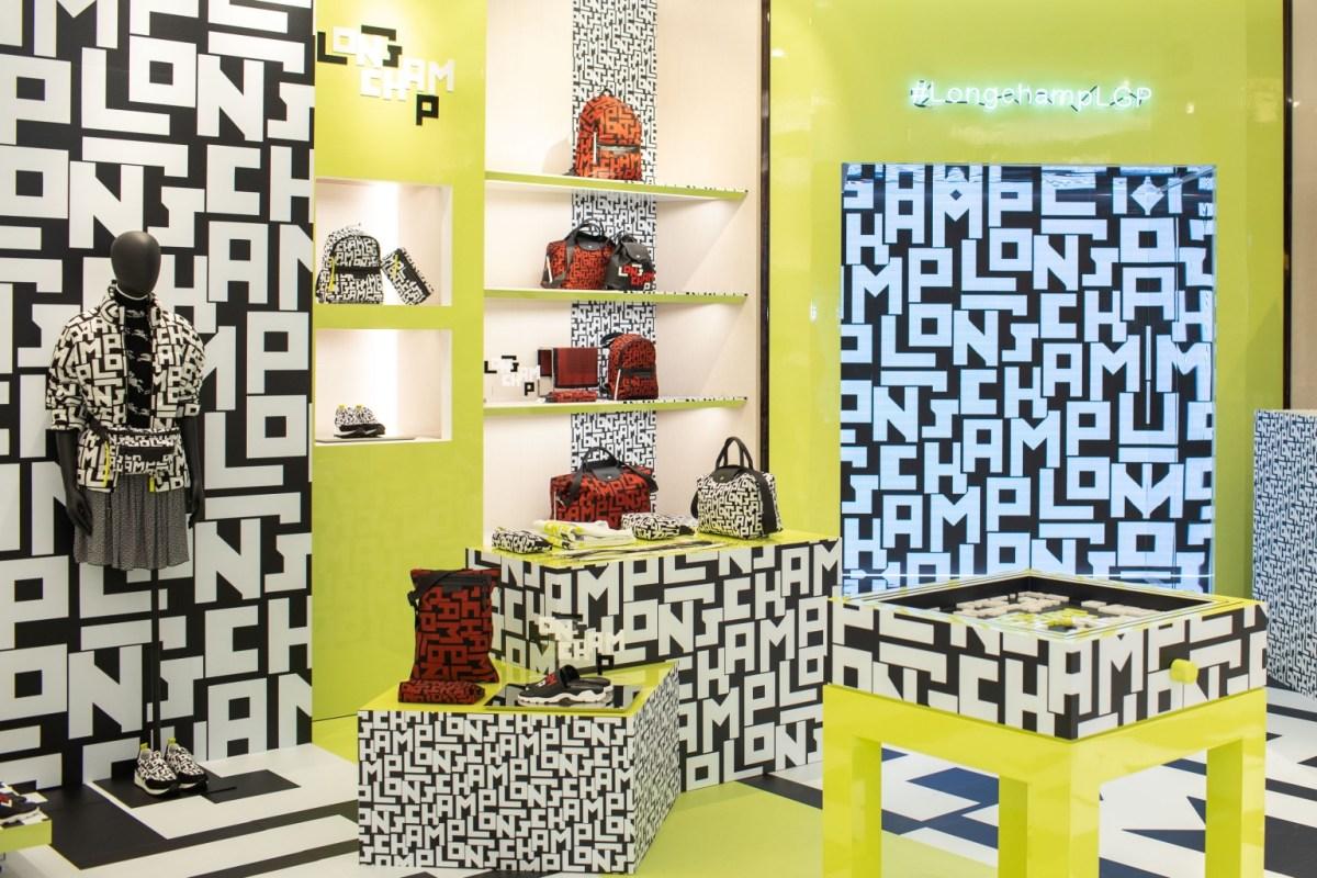 Longchamp台北101旗艦店