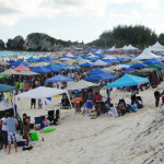 Beachfest Tent City - where everyone has a home.