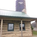 The tour began in the historic 1790's cabin now used as the farm's country store.