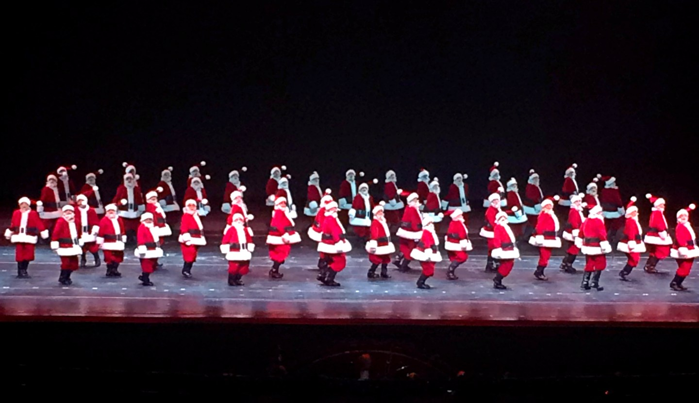 The Radio City Christmas Spectacular – Chey Chey from the Bay
