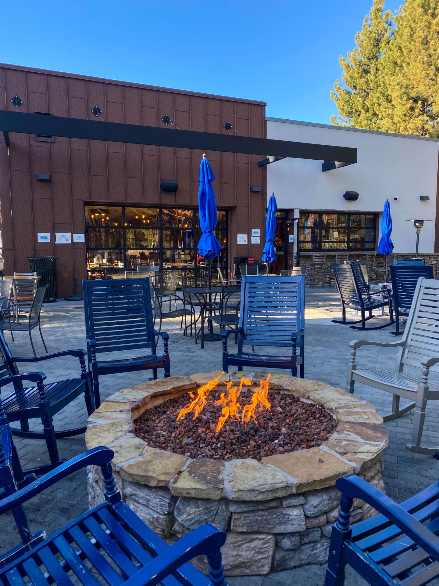 Tahoe Cocktail Corner's outdoor patio.