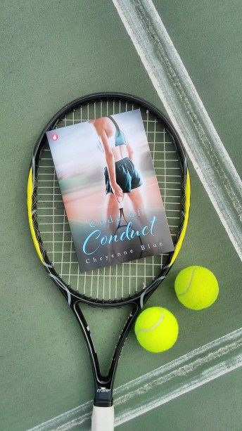 paperback racquet and balls
