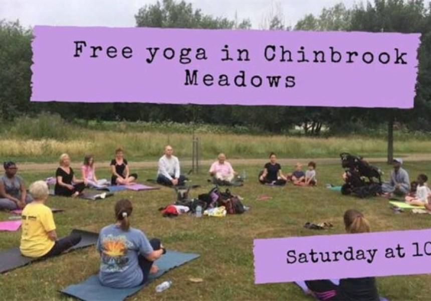 Free Yoga in Chinbrook Meadows