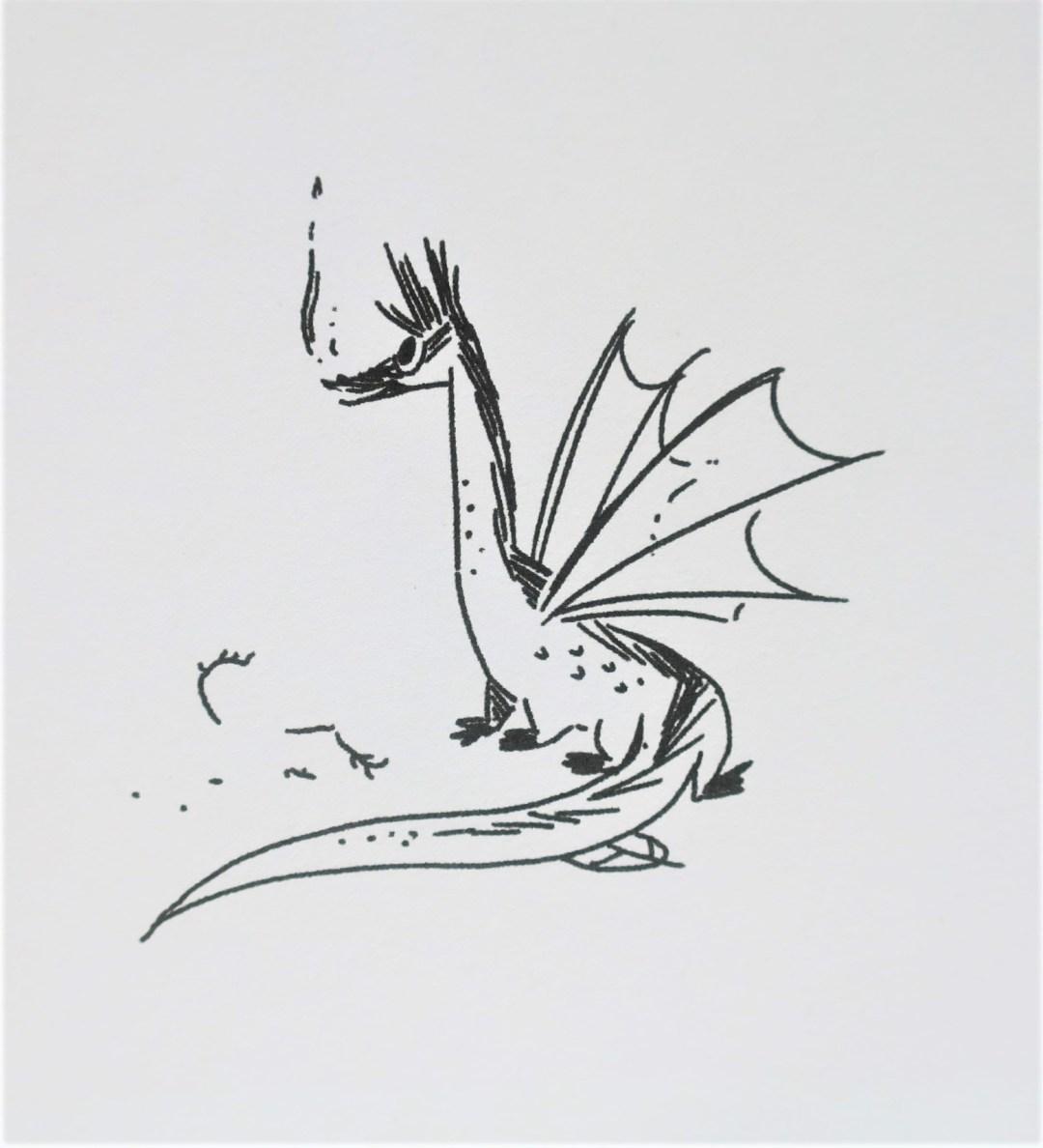 Moomin et le dragon - Dragon