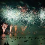feux d'artifices fête du lac d'annecy
