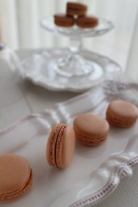 手作りマカロン, チョコマカロン, 簡単レシピ