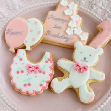birthday, birthdayicingookie, icingookie, happybirthday, 誕生日アイシングクッキー, 1stbirthday
